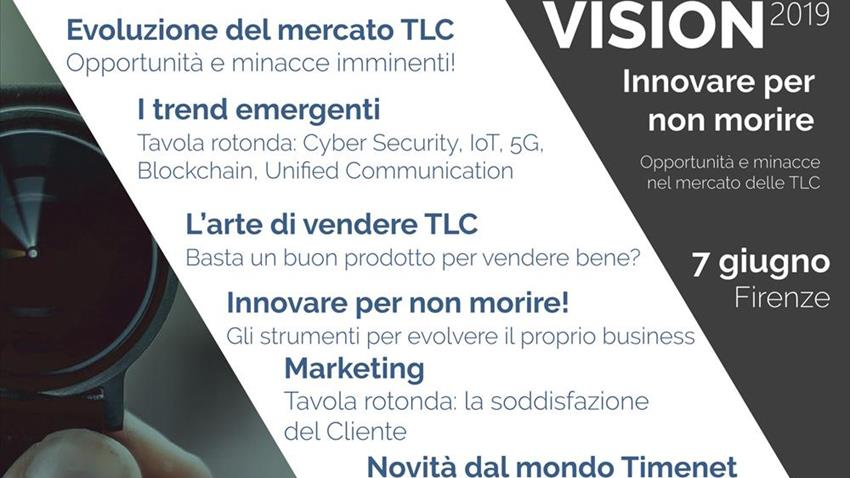 Luca Cecchi - AD di Connecting Project - ospite dell´evento Vision2019